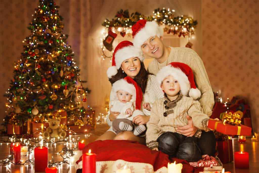 Christmas family portrait - Shutterturf