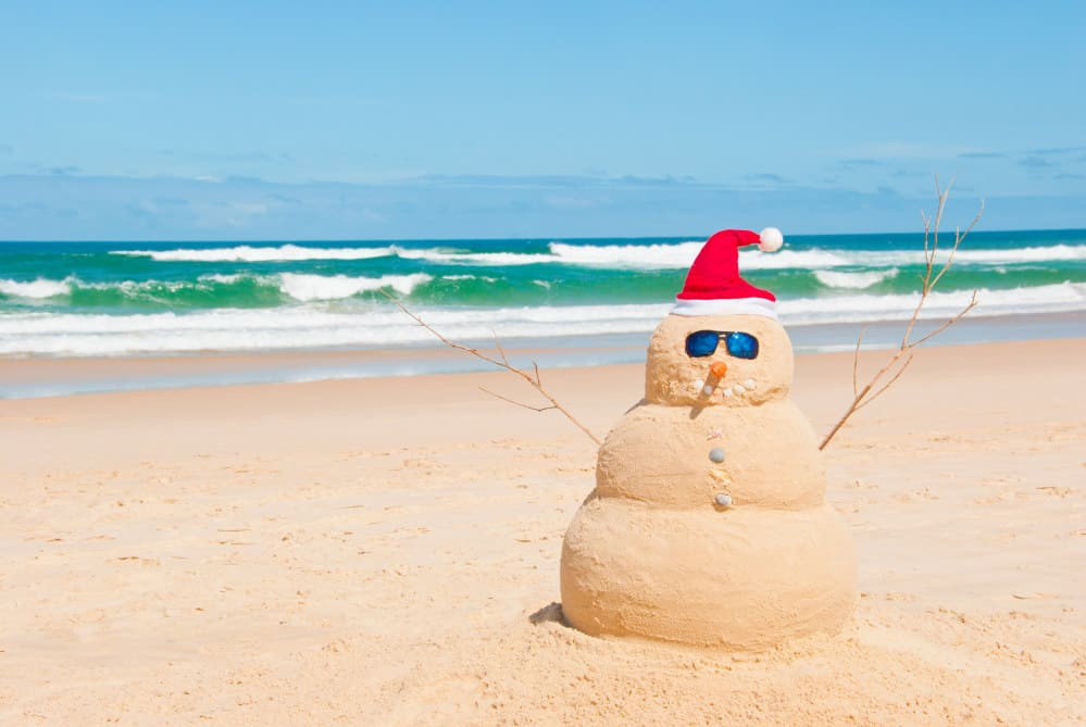 Christmas on the Beach - Shutterturf