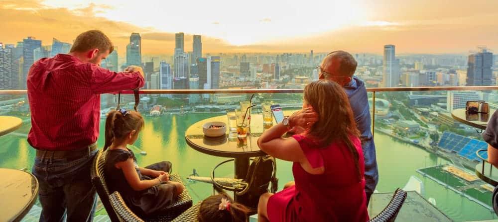 Ce La Vi, Marina Bay Sands - Shutterturf