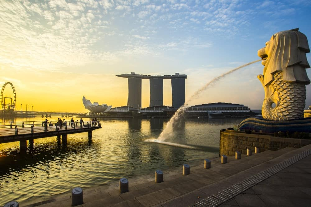 Merlion Park Singapore - Shutterturf