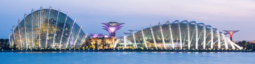 Panorama Singapore Garden by the bay - Shutterturf
