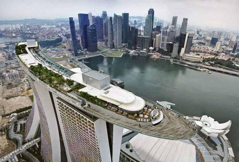Sky Park, Marina Bay Sands - Shutterturf