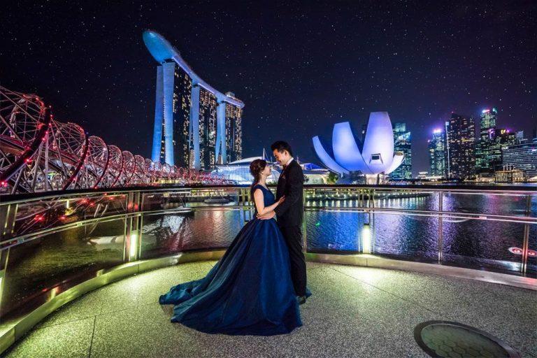 Wedding photoshoot locations in Singapore