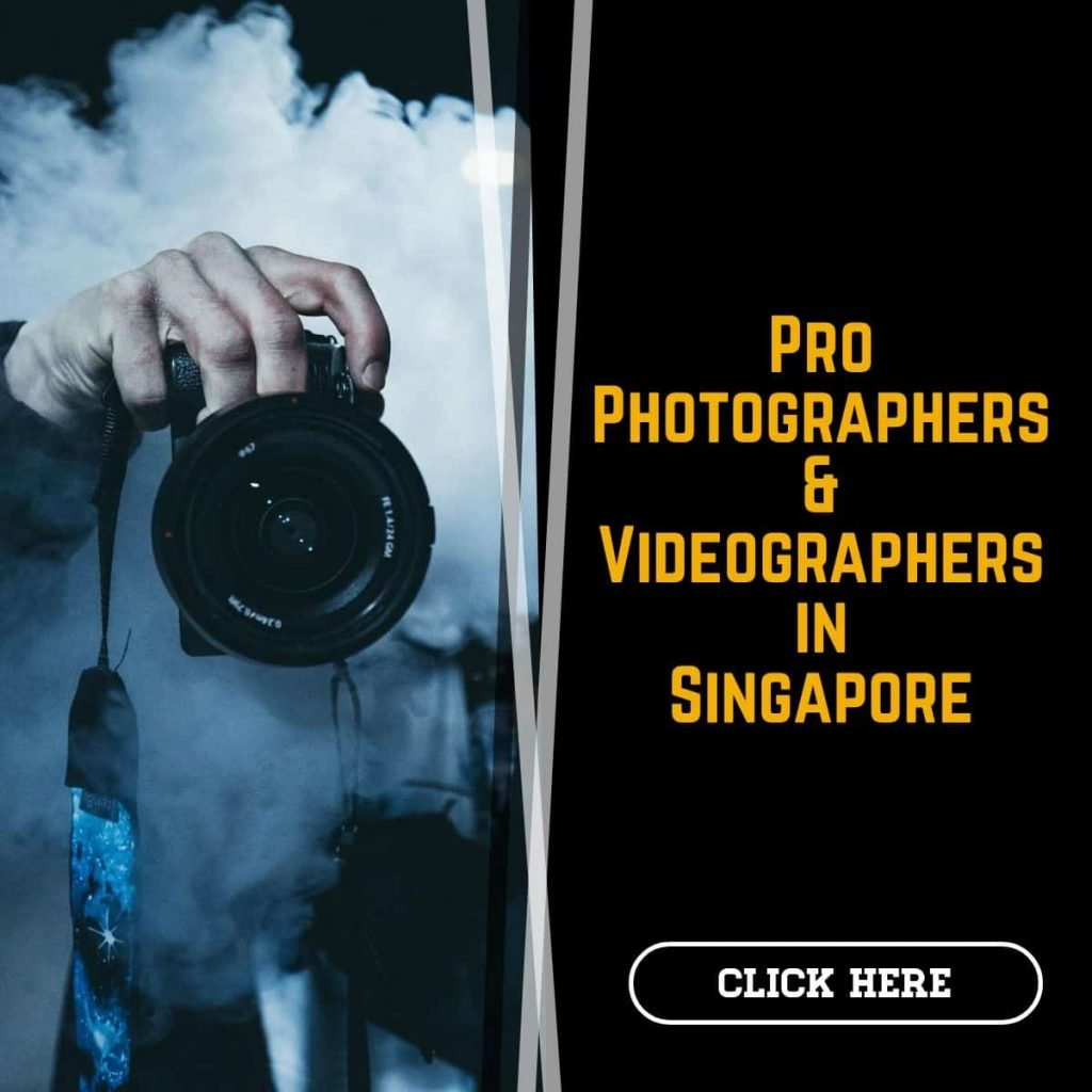 Professional photographers in Singapore