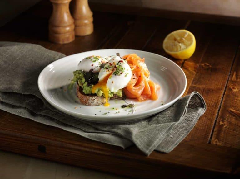 """food photographers in london an egg dish with beautiful garnish"""